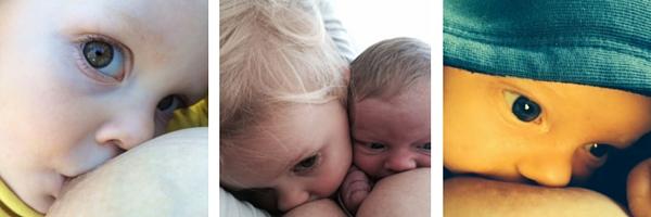 Tandem Nursing a Toddler and a Baby inspiringmompreneurs.com