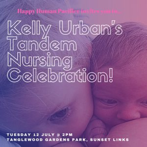 Kelly Urban Tandem Nursing Celebration Invite