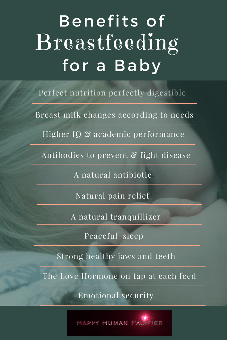 Benefits Of Breastfeeding For A Baby  Happy Human Pacifier-8560