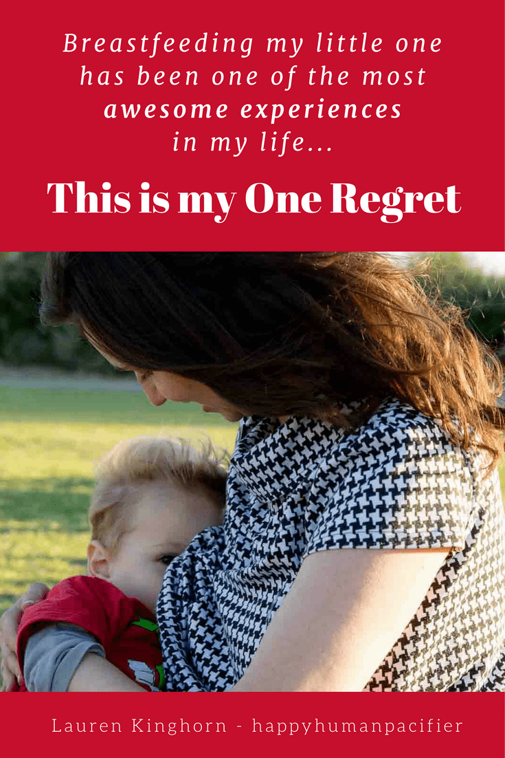 One Breastfeeding Regret