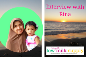 Rina Living with Low Milk Supply