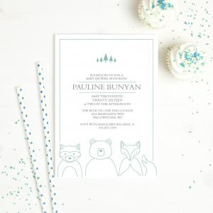 Get Your Customizable Gender Reveal Baby Shower Invitations