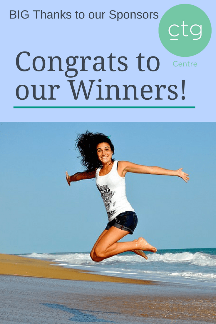 Congrats to Jill du Preez and Sally Cursons. Thanks to our Sponsors, CTG Centre | GiveawayDay | GiveawayWinners | MyHealthPuzzle