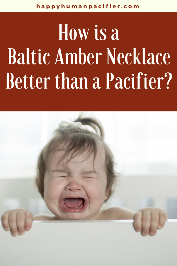 Is teething causing your baby way too much pain? A Baltic Amber Teething Necklace is a gorgeous holistic solution. #ambernecklacebabiesteething #amberteethingnecklace #balticwonder #teethingnecklace
