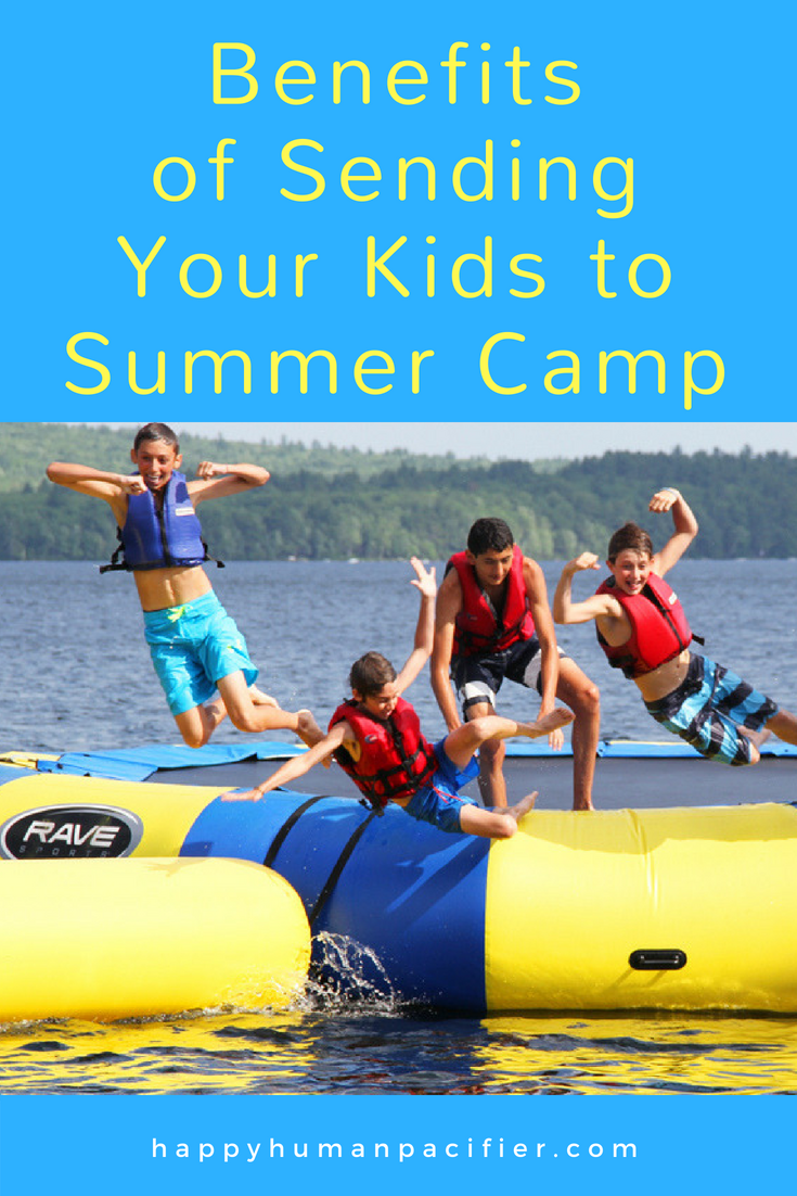 Do you send your kids to Summer Camp? Here are a bunch of brilliant reasons you should. #BenefitsSummerCamp