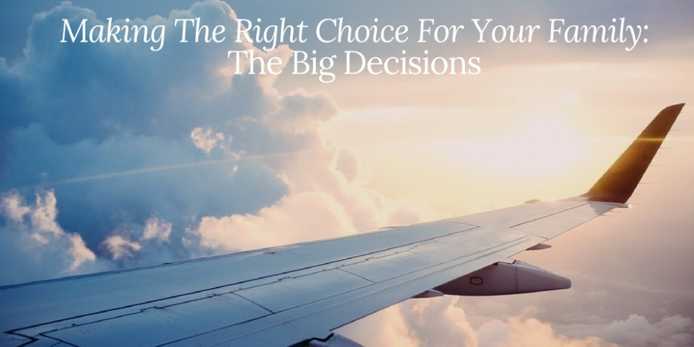 Family The Big Decisions Tweet