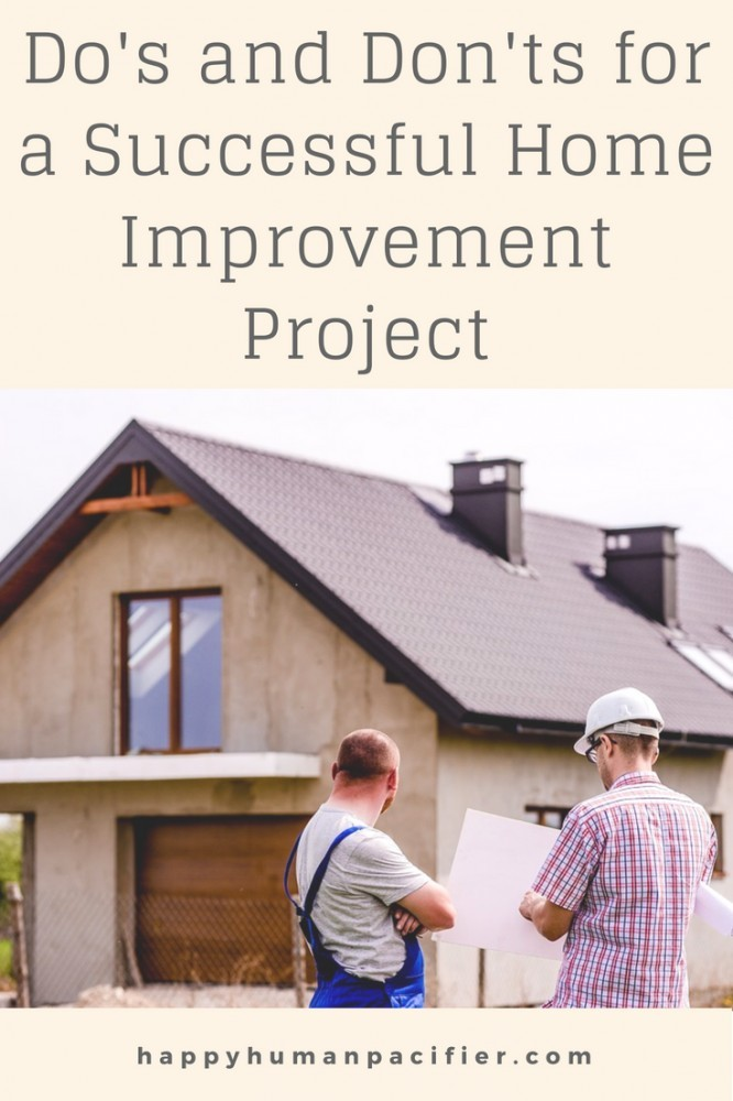 Are you about to embark on a Home Improvement Project? Me too. Read THIS fun, super helpful post before you do. You can thank me later. #homeimprovementproject #homeimprovement