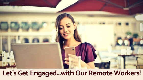 How to Engage with Remote Employees HappyHumanPacifier