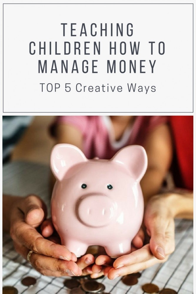Are you teaching your children how to manage money?  Here are 5 important lessons kids need to learn by the age of 7. #HowtoTeachChildrenMoneyManagement