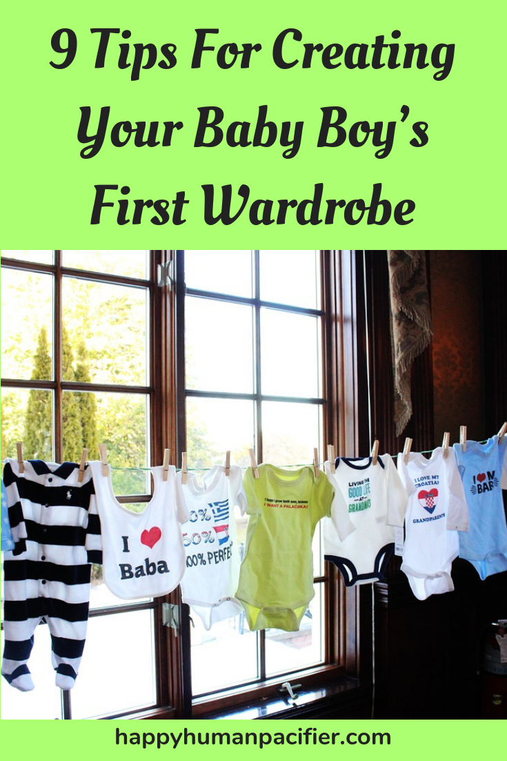 Are you on the lookout for baby boy's clothes for your own little one or off to get some outfits for a baby shower? This list will come in handy. #babyboysclothes