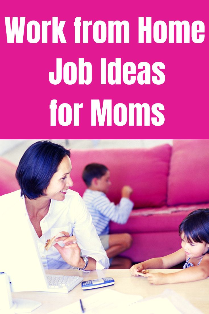 Have you considered working from home? Here are a few ideas to get your creative juices flowing. #workfromhomejobideas #wahm #sahm