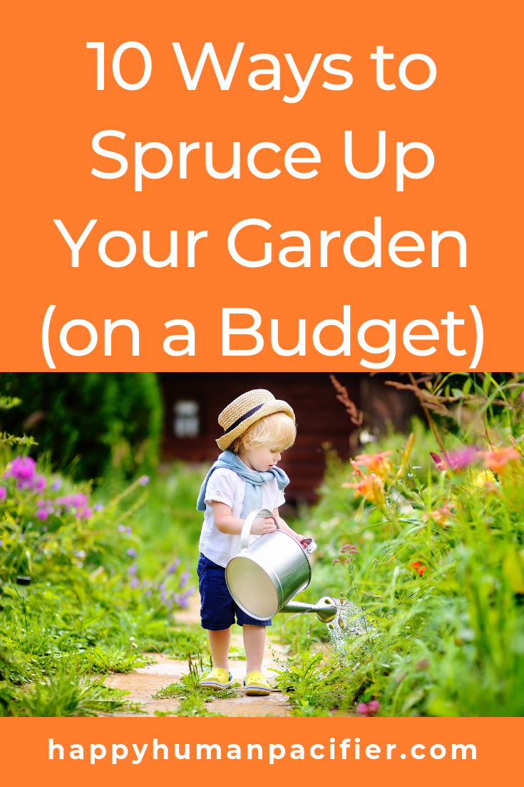 Is your garden in need of some TLC? Here are some brilliant, budget-friendly fixes you can try today. #howtospruceupyourgarden #gardeningtips #homeandgarden