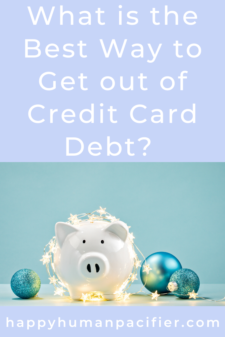 What's the best way out of credit card debt?  Find out in this post sponsored by Colony Associates.  #FinanceTips #WhatistheBestWaytoGetOutofCreditCardDebt #Sponsored #ColonyAssociates