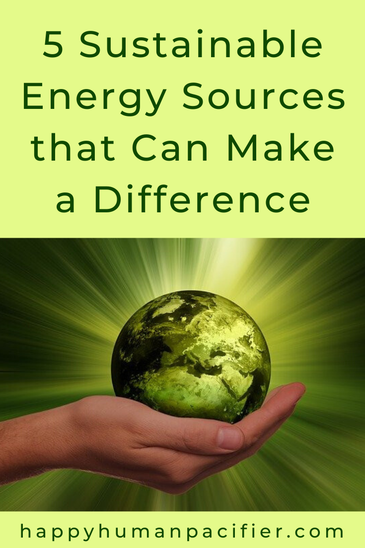 Sustainable Energy Sources
