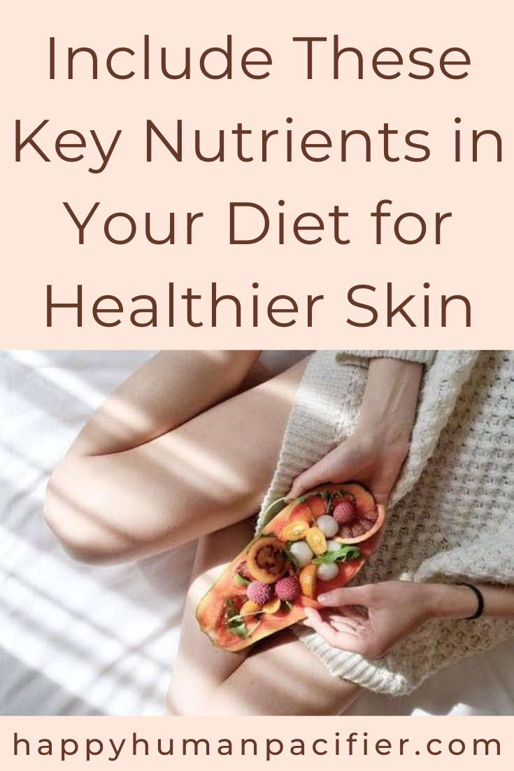 Nothing beats a nutritious diet for healthy, glowing, beautiful skin. Here's a quick look at the key nutrients expert Adam Reeve recommends you consume. #keynutrientsinyourdiet #healthyskin #skincareroutine #healthyfood